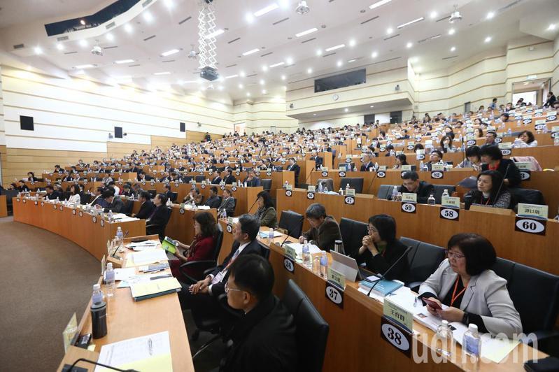 全國大學校長會議上午在台中中興大學舉行。記者黃仲裕/攝影