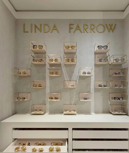 微風南山一樓的LINDA FARROW,是孫芸芸愛店之一。圖/摘自IG@LIND...