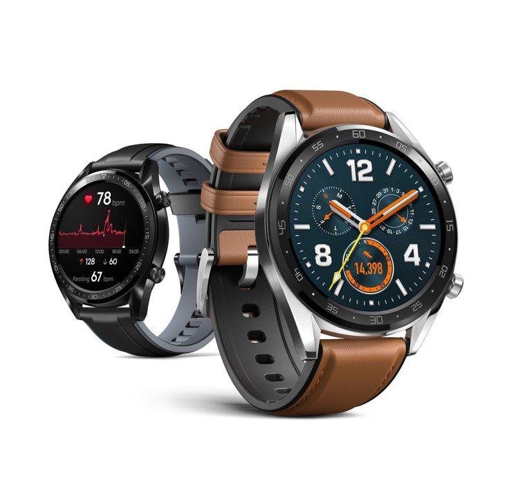 HUAWEI WATCH GT智慧手表預計1月22日在台上市,黑色運動款售價5,...