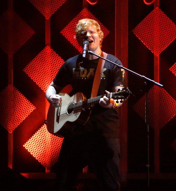 紅髮艾德4月初將履行來台的承諾,舉辦台灣演唱會。圖/路透資料照片