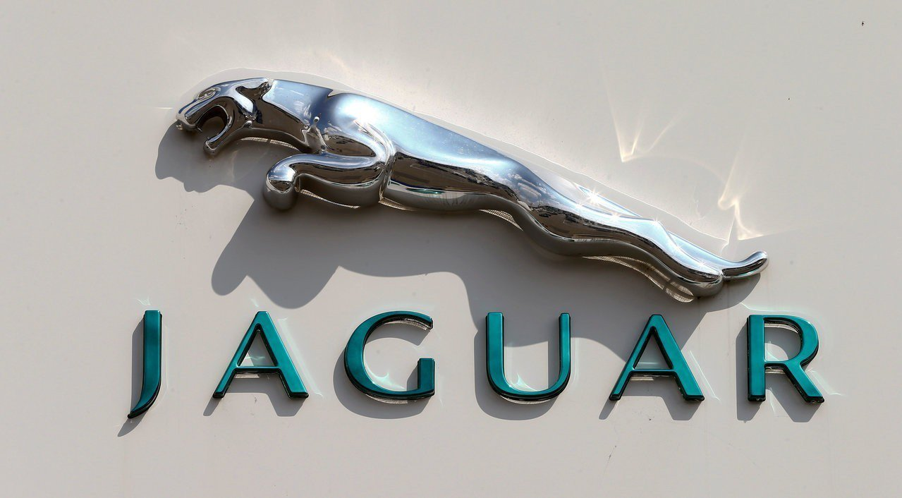 Jaguar標誌。路透社