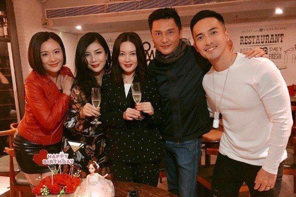 「性感蜜桃」李麗珍53歲生日 嬌豔不輸25年前
