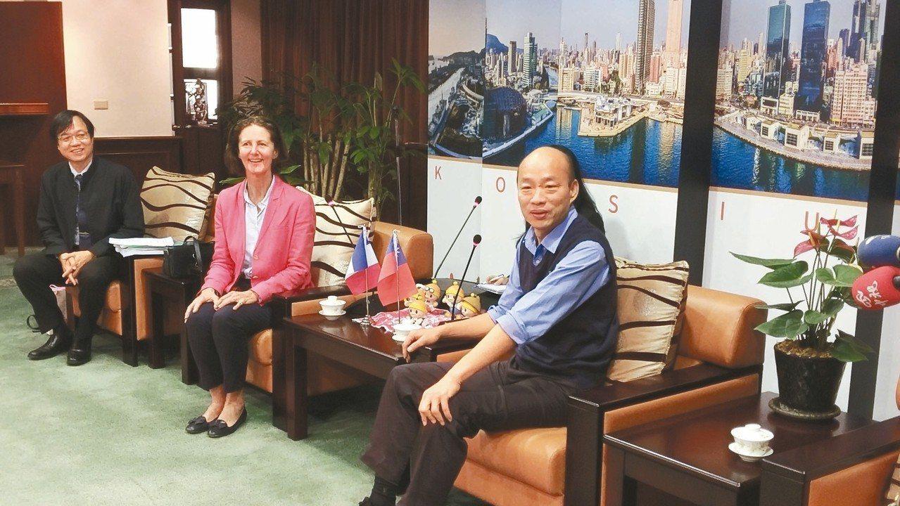 國際水協會亞太地區會議將於2021年在高雄舉辦,國際水協會會長Diane dAr...