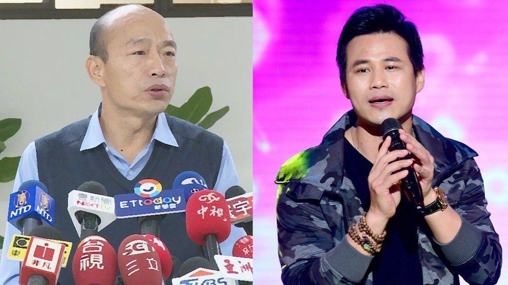陳國華曾臉書評點正在選市長的韓國瑜「肉包子沒餡」,慘遭網友砲轟。圖/報系資料照、