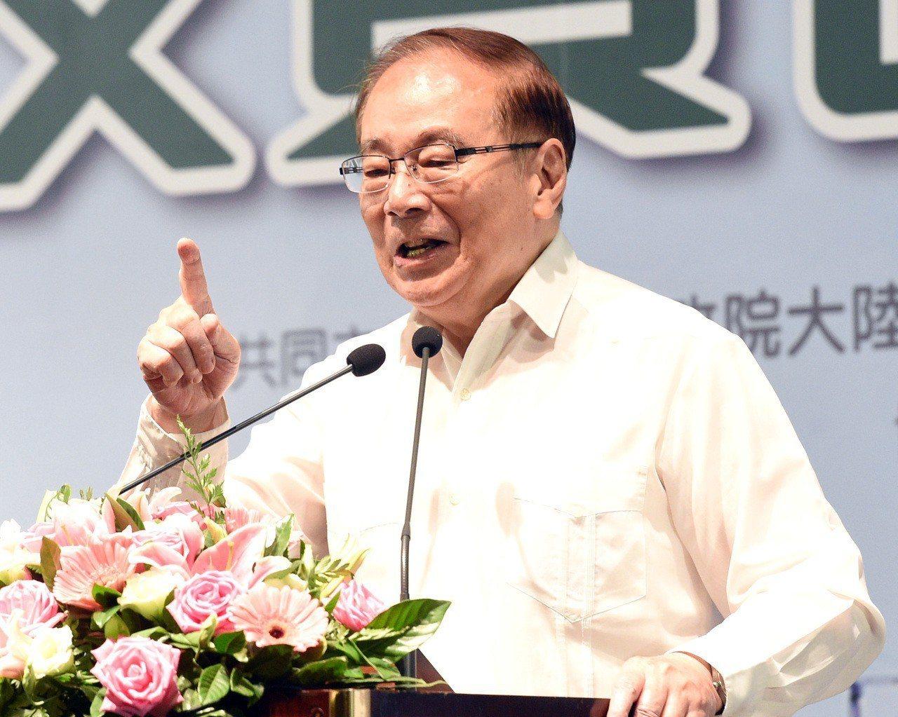 張俊雄是第一個回鍋的行政院長。 圖/聯合報系資料照片