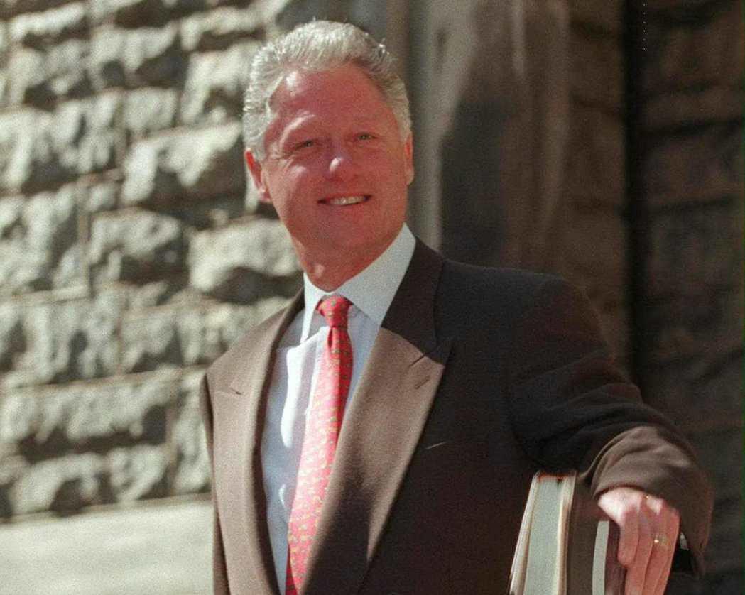 美國政府關門天數最長的紀錄保持者,原本是柯林頓。 (法新社)