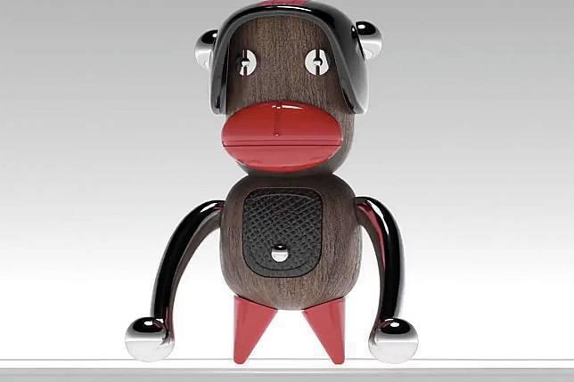 義大利時尚品牌Prada推出一系列公仔,其中1隻名為「Otto」的玩偶被設計成黑...