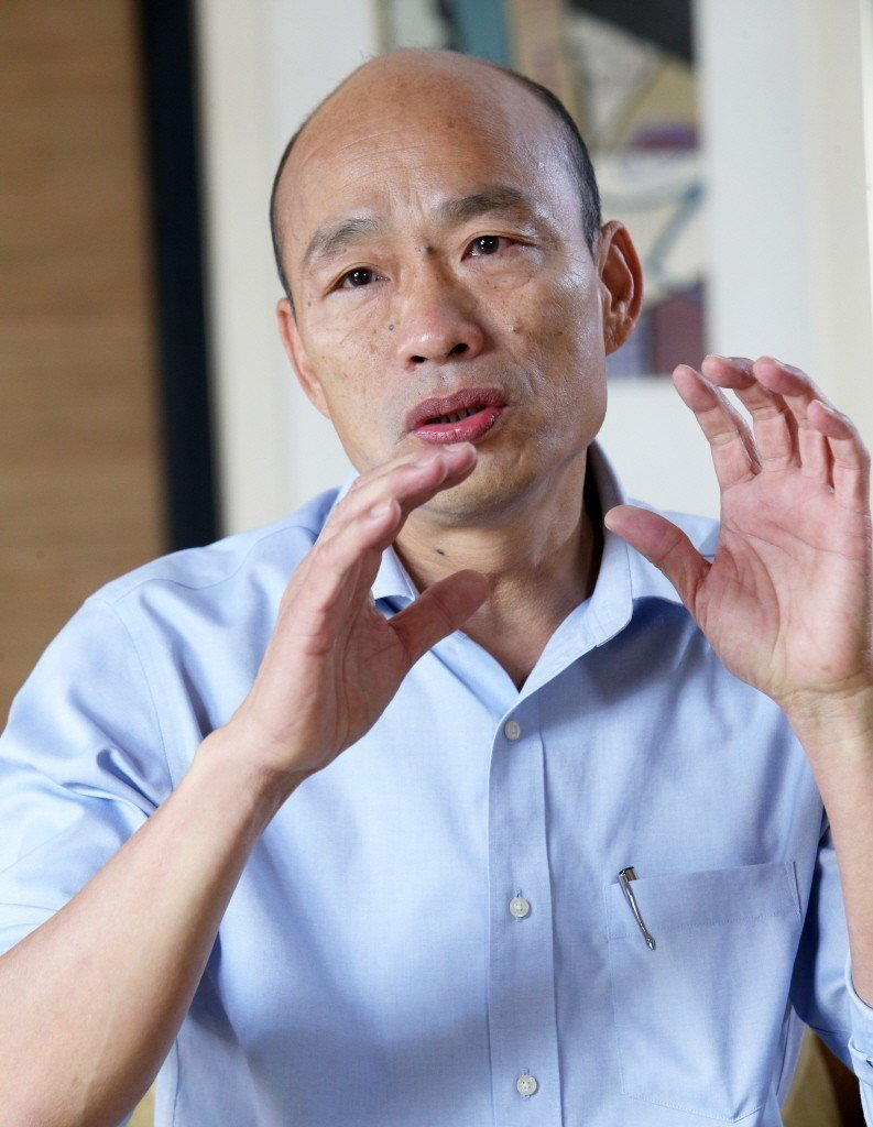 高雄市長韓國瑜用打麻將,形容國民黨總統初選「戰況」。圖/聯合報系資料照片