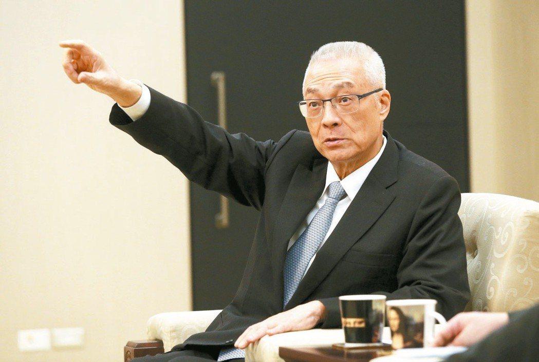 國民黨主席吳敦義一直未表態,但邀15個藍營縣市長列席中常會,一起吃便當,企圖心藏...