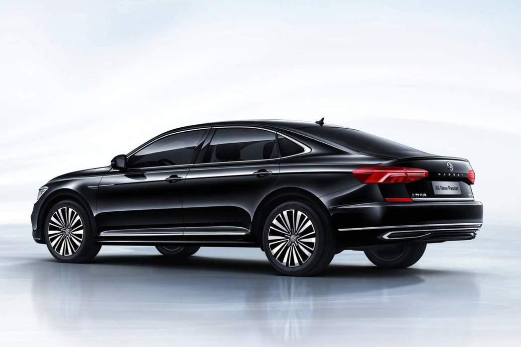 中國版新世代Volkswagen Passat。 摘自Volkswagen