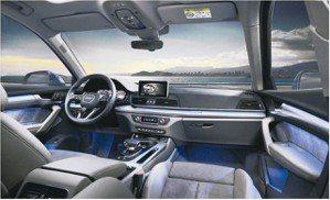 Audi Q5為豪華中型SUV樹立了全新標竿。全車系標準配備同級唯一的12.3吋...