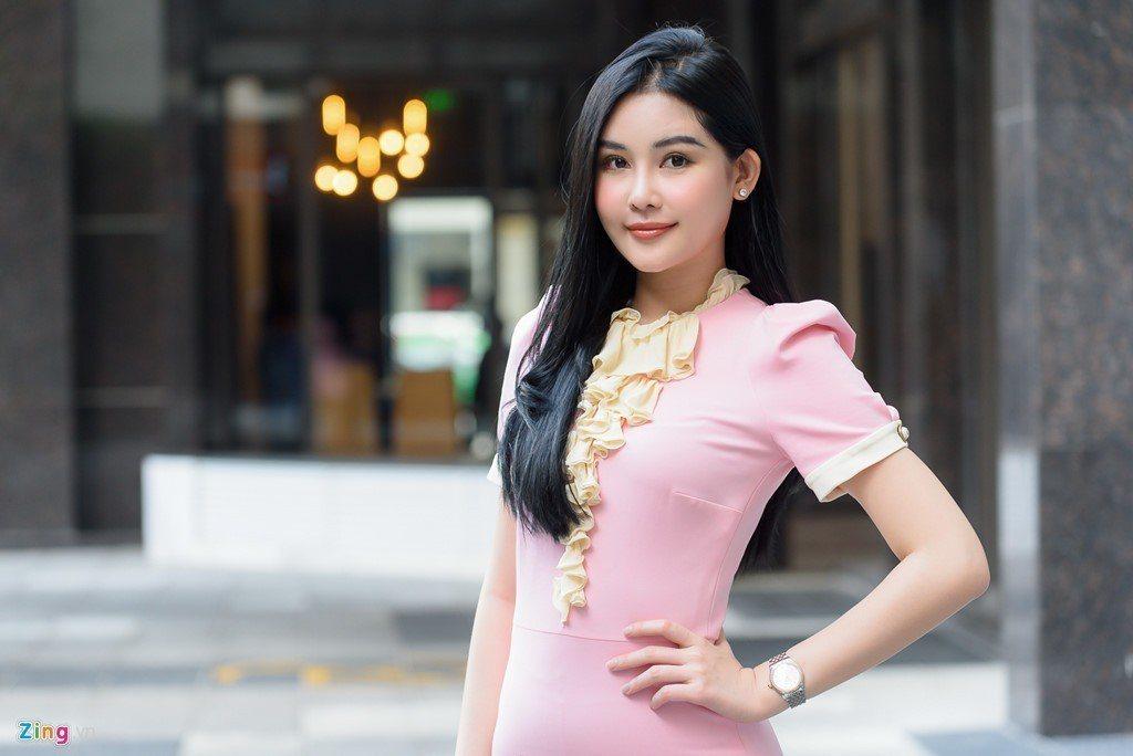 黎歐銀英(Le Au Ngan Anh)奪得越南2017年大洋選美大賽冠軍。 圖...
