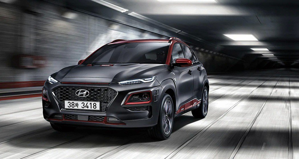 Hyundai Kona Iron Man Edition韓國限量1,700台上市。 摘自Hyundai