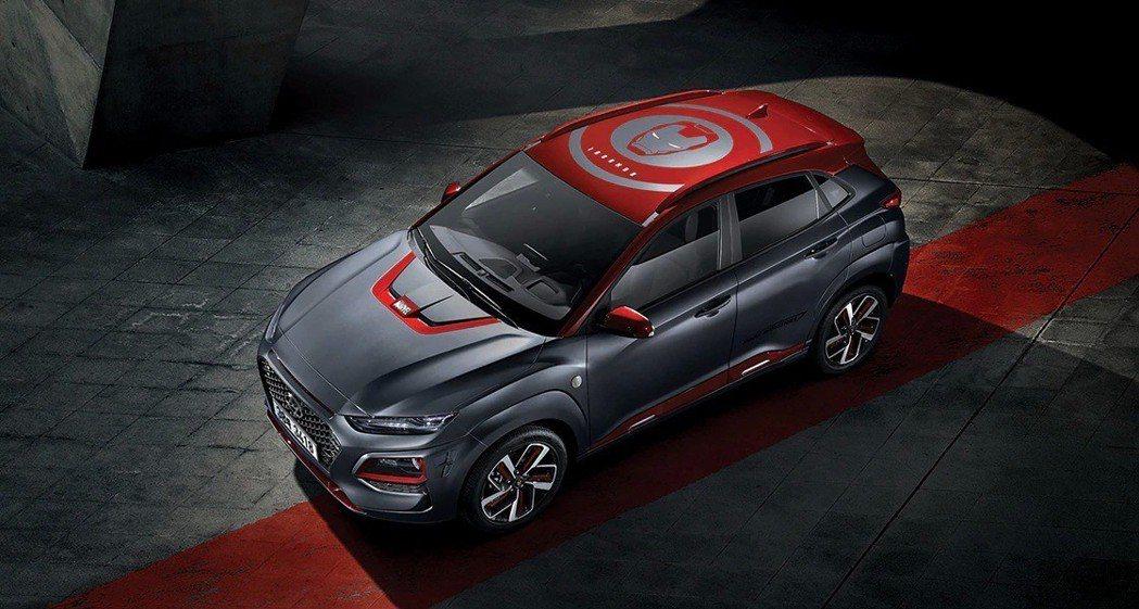 Hyundai Kona Iron Man Edition在Two-Tone的車...