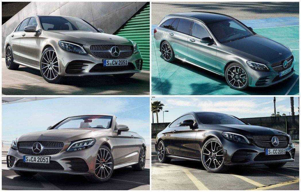車型眾多的C-Class,依然是品牌最為暢銷的主力車款。 摘自Mercedes-...