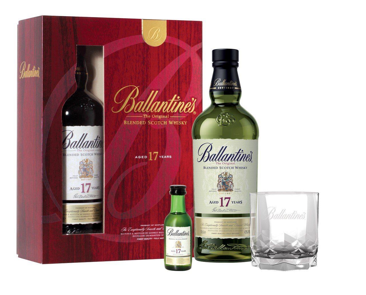百齡罈17年調和式蘇格蘭威士忌禮盒。圖/保樂力加提供 ※ 提醒您:禁止酒駕...