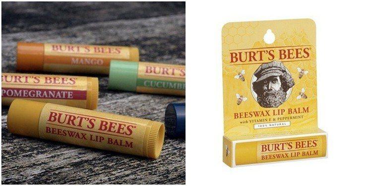 BURT'S BEES 蜂蠟護唇膏,4.25g。圖/Bella儂儂提供