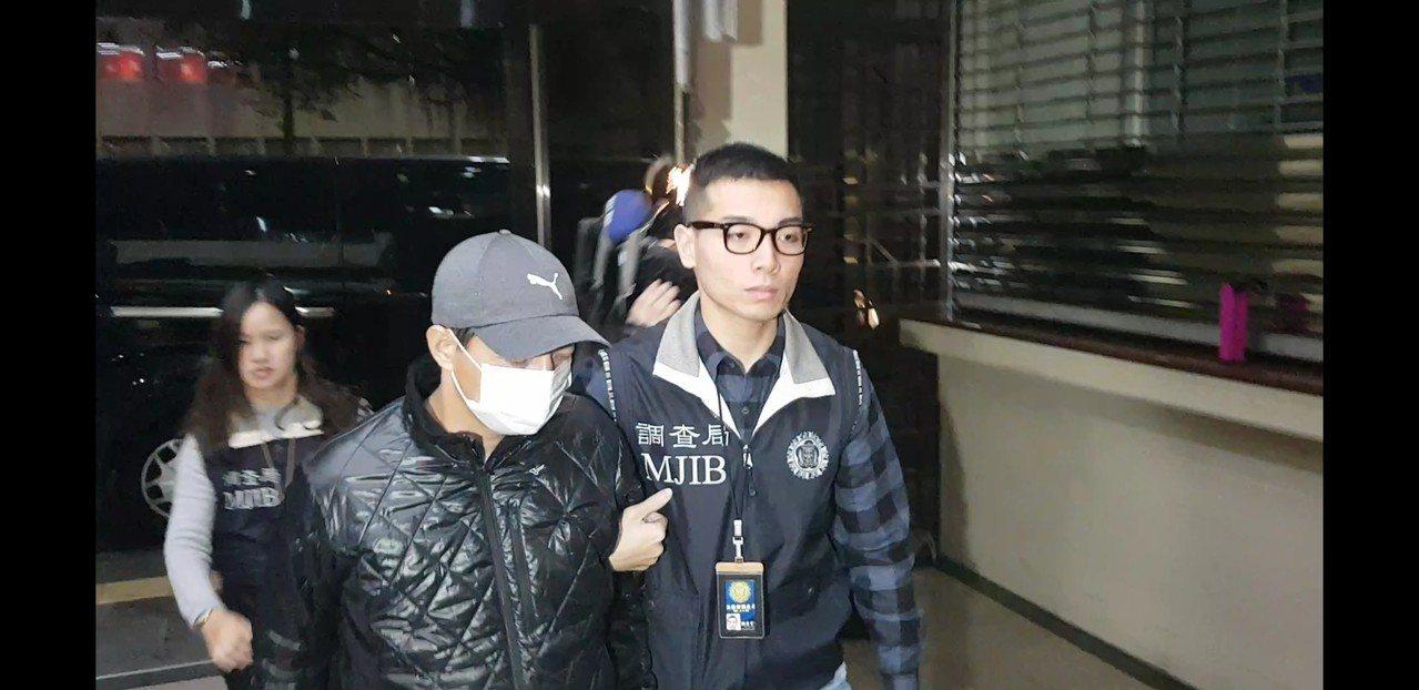 兩線三警官劉昌祺再涉圖利罪百萬交保。記者張宏業/攝影