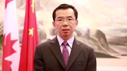中國駐加拿大大使盧沙野。(騰訊網)