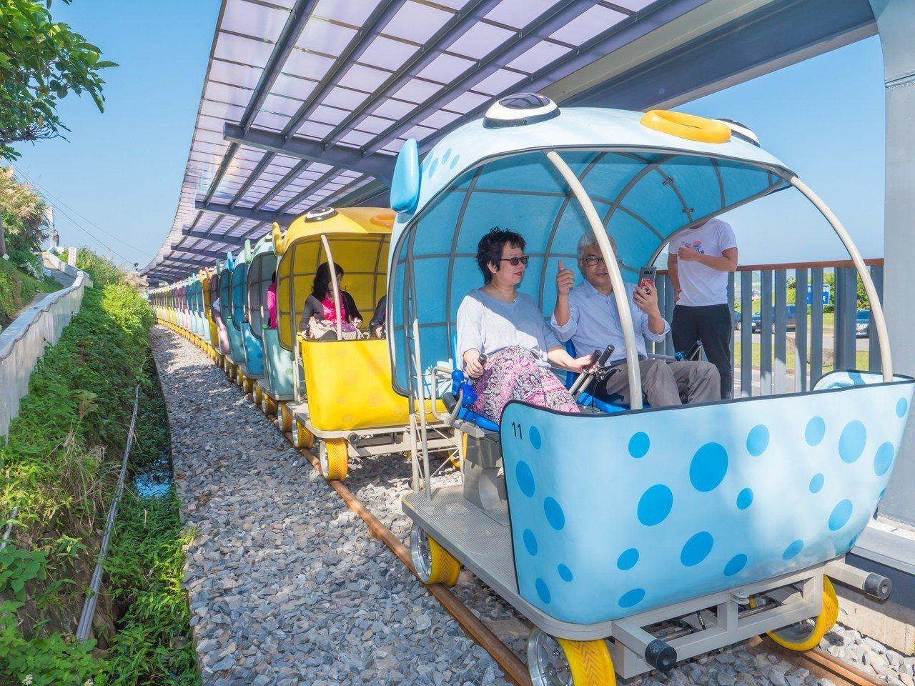 深澳鐵道自行車18日起優惠收費營運,15日線上預約。圖/觀旅局提供