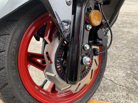 影/機車裝ABS可避免輪胎鎖死犁田? 新竹監理站實測證實