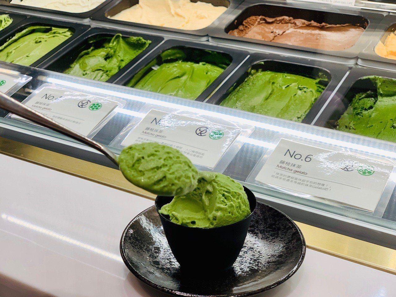 JAPAN RAIL CAFE的nanaya抹茶義式冰淇淋,可品嘗 No.1~N...