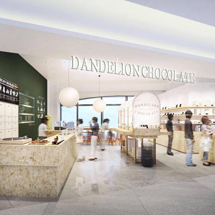 微風南山atré 2樓—Dandelion Chocolate。圖/摘自臉書@D...