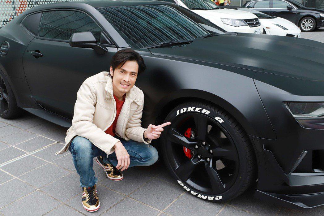 Gino新車的所有零件都從美國進口。圖/民視提供