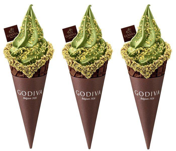 「抹茶霜淇淋」售價200元。圖/GODIVA提供