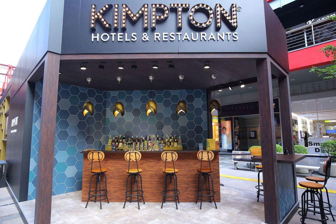 金普頓酒店亞洲首次快閃酒店,現身台北信義區。圖/IHG提供