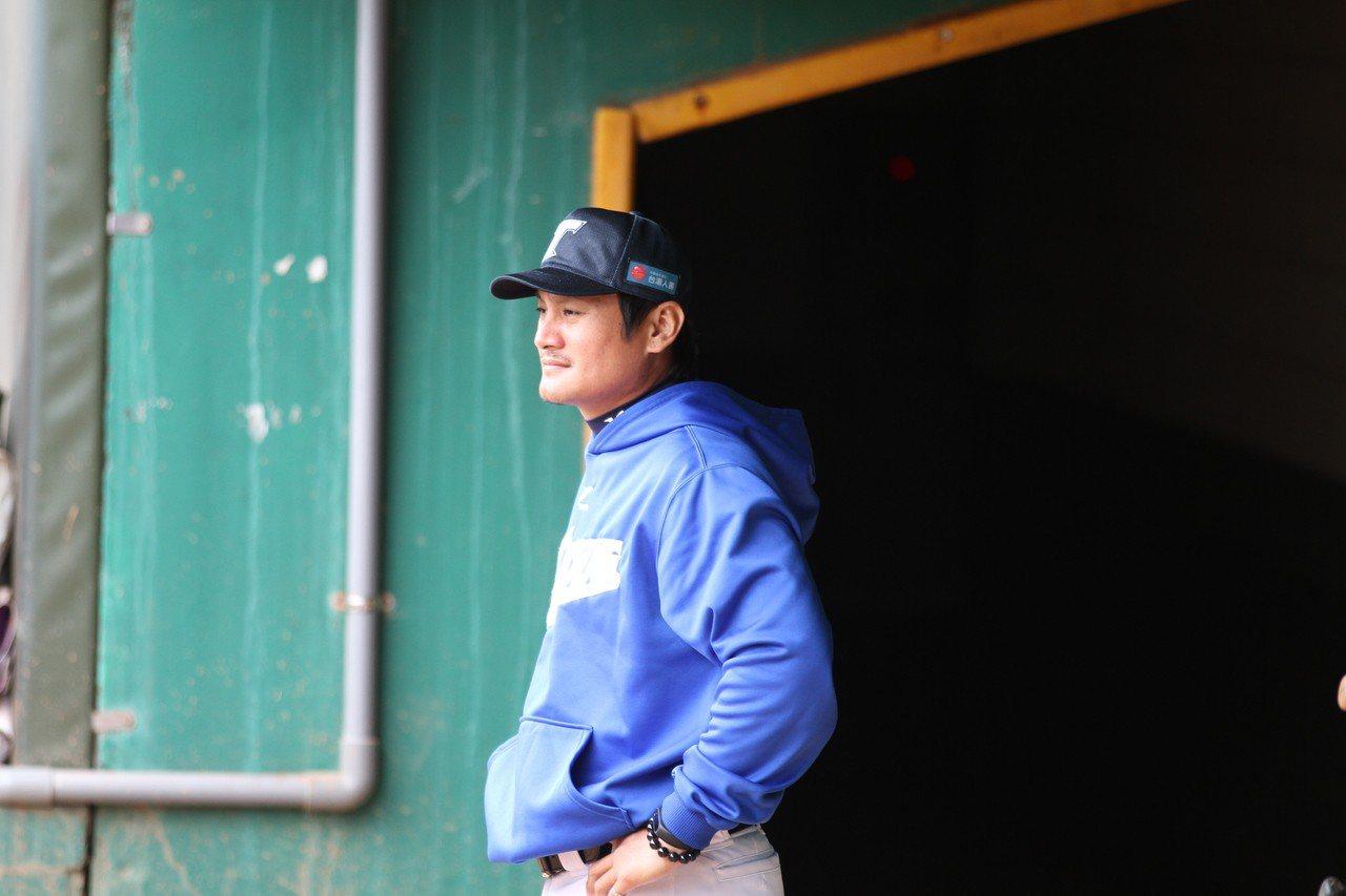 台壽保隊投手教練林英傑。圖/台壽保隊提供