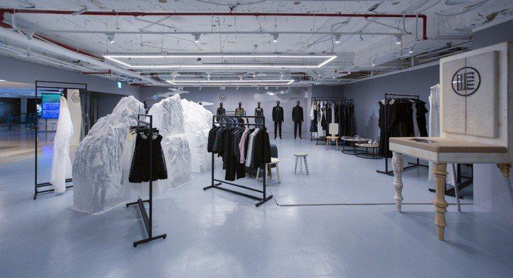 複合式時尚生活快閃概念店展出至2月28日止。圖/WANGLILING提供