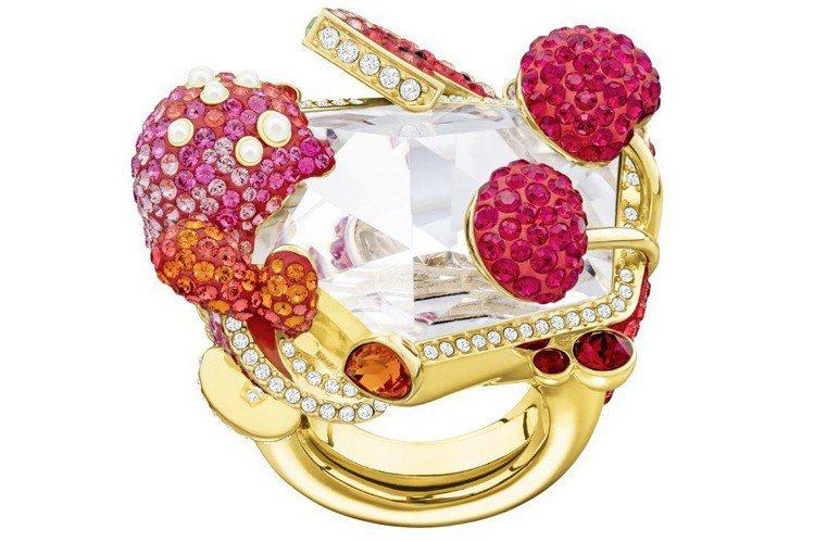 OPTIMUM 戒指,14,900元。圖/施華洛世奇提供