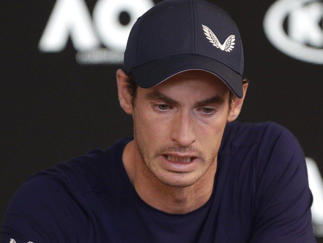 英國網球名將莫瑞今日在澳網賽前記者會上宣布自己將在今年退休。  美聯社