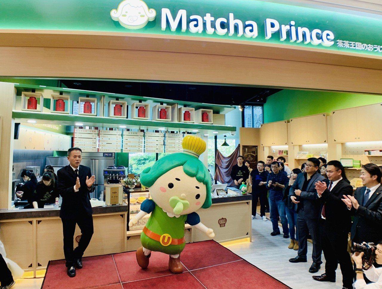 新茶飲品牌「Match Prince」台灣首店正式開幕。記者張芳瑜/攝影