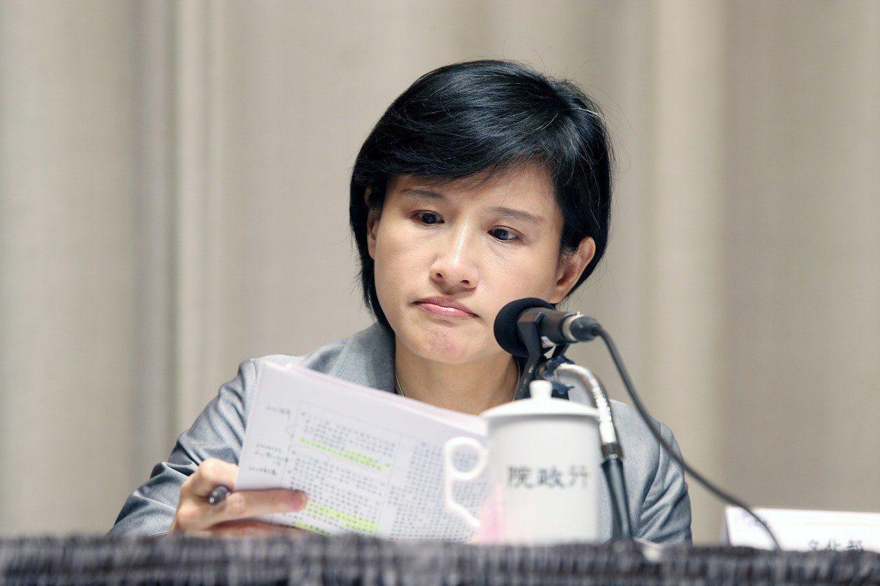 文化部長鄭麗君。聯合報資料照/記者邱德祥攝影
