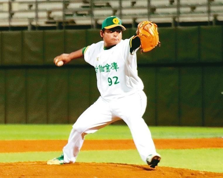 黃健隆先發七局失一分,帶領球隊獲勝。 圖/中華棒球協會提供