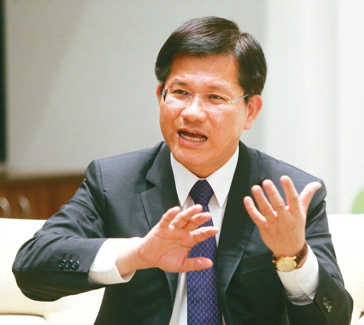 前台中市長林佳龍將出任交通部長。 聯合報資料照/記者黃仲裕攝影