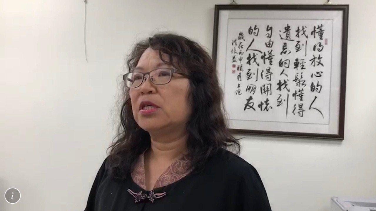 彰化縣教育處長陳逸玲。 聯合報系資料照/記者林宛諭攝影