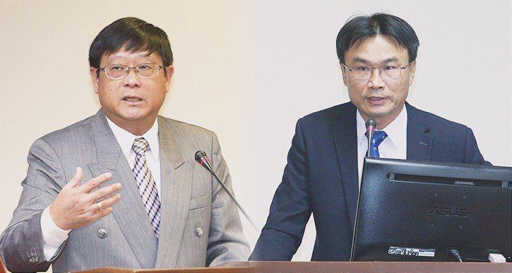 張子敬(左)、陳吉仲(右) 報系資料照