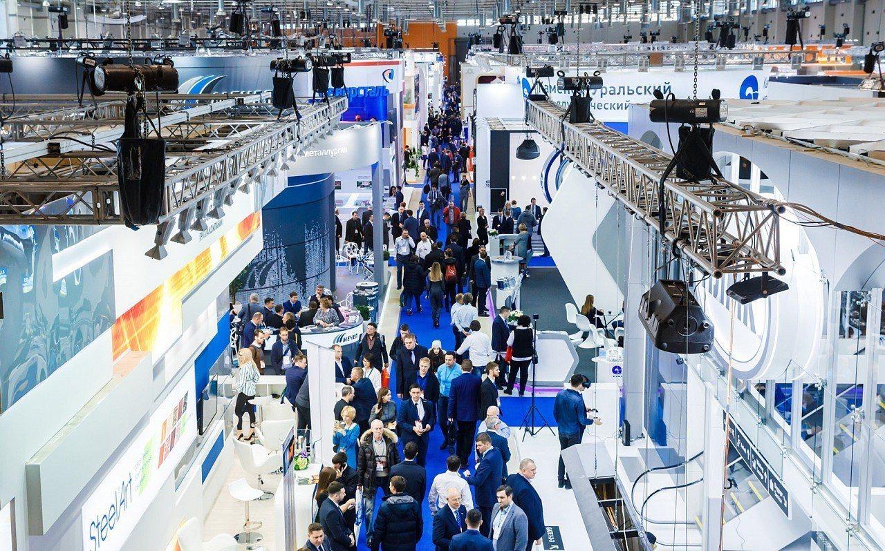 VDNK展覽館每年都承辦100多場國際展覽與大型國際會議。 圖/摘自VDNK官網