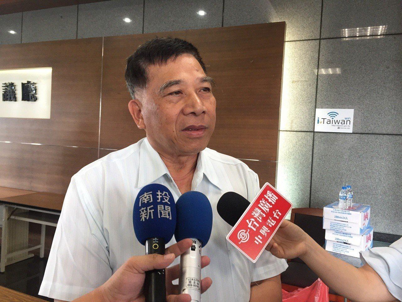 南投縣副縣長陳正昇。 聯合報系資料照/記者江良誠攝影