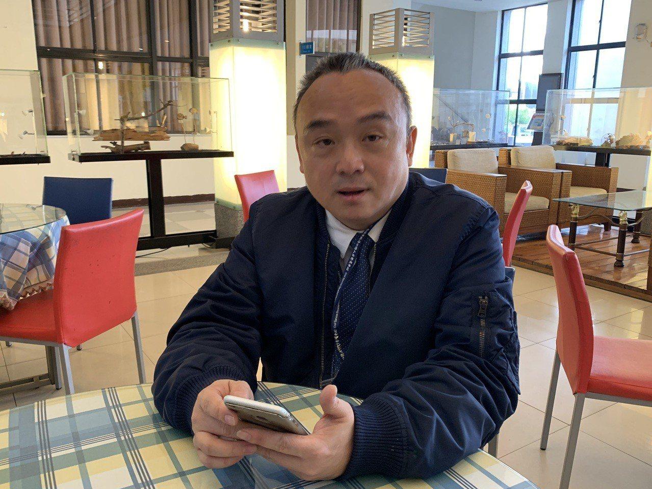 高雄市觀光局長潘恒旭是韓國瑜口中的點子王。 圖/聯合報系資料照片