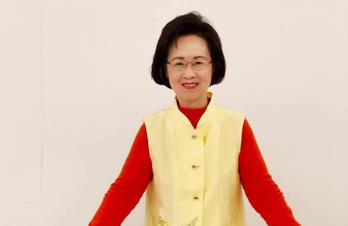 瓊瑤獲邀擔任高雄市「愛情產業鏈」的總顧問。 圖/摘自瓊瑤臉書