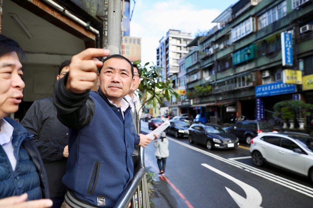 侯友宜上任後頻到各地視察,訴求「行動治理」。 圖/新北市府提供