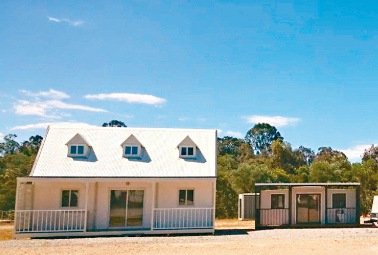 澳洲昆士蘭「安耐勃平價住宅」提供組合屋,造屋快速,造價又便宜。 取自Anembo...