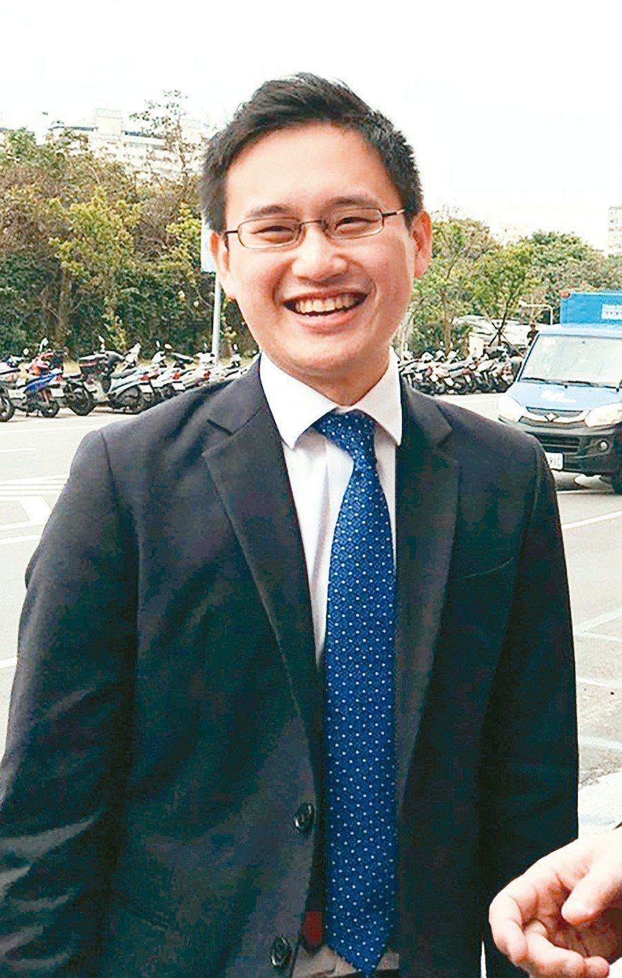 「口譯哥」趙怡翔出任駐美代表處一等諮議。 圖/聯合報系資料照片
