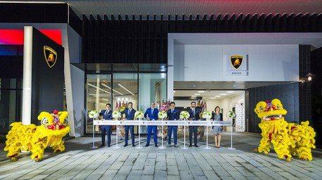 Lamborghini Taichung全新展示暨服務中心開幕 全臺首現最新全球品牌規範