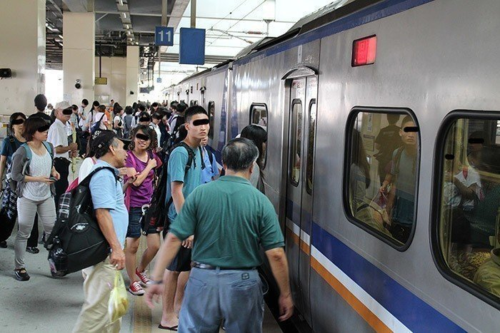 台鐵區間車,非新聞當事列車。報系資料照