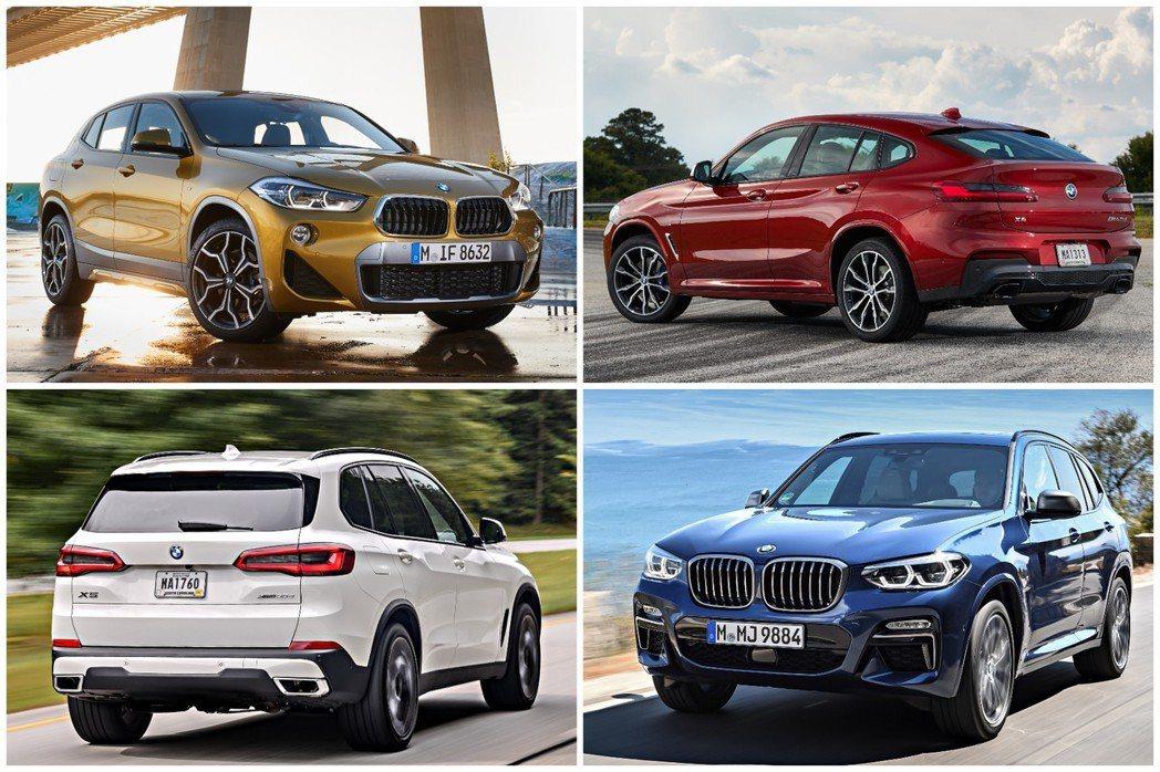 X系列在2019年上半年的銷量,就佔了BMW總銷量的43.7%。 摘自BMW